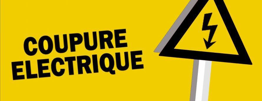 COUPURE DE COURANT – Chez Bouchet